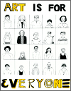 Art is for Everyone Poster
