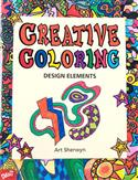 creative, coloring, design elements, Creative Coloring: Design Elements, Art Sherwyn