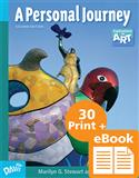 E-eBook plus Student Books, K-12 digital textbooks, Web-based, electronic  textbook, e-Book, eBook, electronic portfolio, e-Portfolio, ePortfolio, middle school, junior high, Explorations in Art, A Personal Journey, Davis Digital, Marilyn G. Stewart, Eldon Katter, Marilyn Stewart