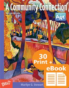 A Community Connection, eBook Class Set with 30 printed Student Books and Davis Art Images Subscription