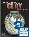 D-eBook, clay, Experience Clay, Maureen Mackey, high school, studio,  eBook, e-Book, digital textbook