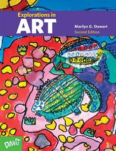 Explorations in Art, 2nd Edition, Grade 1, Student Book