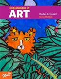 1,A-Student Book, Explorations in Art, Student Book, elementary, Marilyn G. Stewart, theme-based, elements and principles, art criticism, Marilyn Stewart