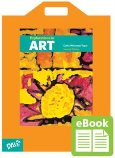Explorations in Art, 2nd Edition, Kindergarten, eBook Class Set with Big Book (print version)