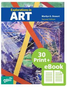 Explorations in Art, 2nd Edition, Grade 4, eBook Class Set with 30 Student Books (print version)