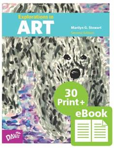 Explorations in Art, 2nd Edition, Grade 5, eBook Class Set with 30 Student Books (print version)
