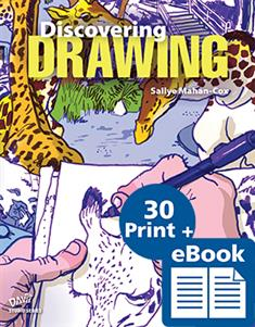 Discovering Drawing, eBook Class Set with 30 printed Student Books and Davis Art Images Subscription