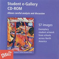 A Community Connection, Student e-Gallery CD-ROM