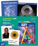 L-Resource Cards, Explorations in Art, elementary, resource cards, Marilyn G. Stewart, Marilyn Stewart