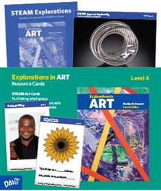 Explorations in Art, 2nd Edition, Grade 4, Resource Cards