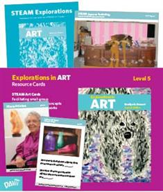 Explorations in Art, 2nd Edition, Grade 5, Resource Cards