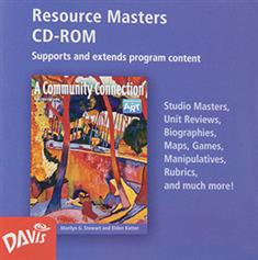 A Community Connection, Resource Masters CD-ROM