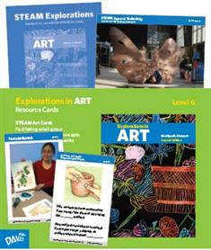 Explorations in Art, 2nd Edition, Grade 6, Resource Cards