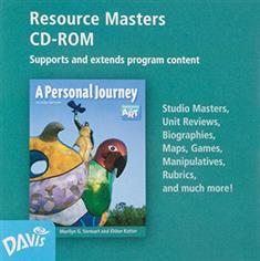 A Personal Journey, Resource Masters CD-ROM