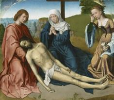 Lamentation at the Foot of the Cross (JPEG)