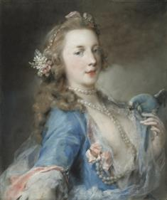 A Young Woman With a Parrot (TIFF)