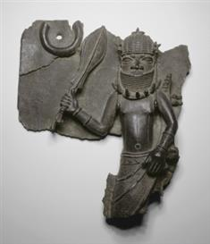 Plaque With Fragmentary Chief Figure (JPEG)