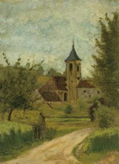 Landscape With Church (JPEG)