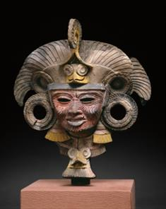 Mask From An Incense Burner Portraying the Old Deity of Fire (TIFF)
