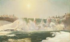 Niagara Falls in  Winter (TIFF)