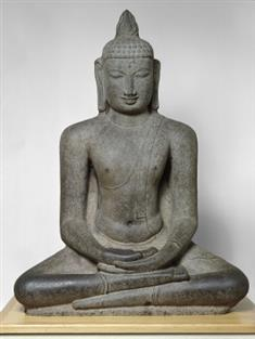 Buddha Seated in  Meditation (JPEG)
