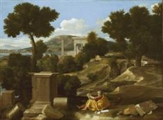 Landscape With Saint John On Patmos (JPEG)