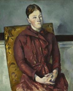 Madame Cezanne in  Yellow Chair (TIFF)