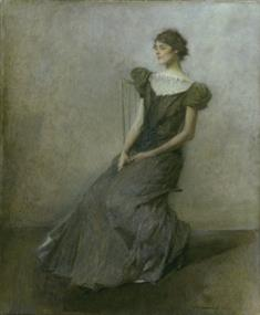Lady in  Green and Gray (JPEG)